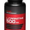 GNC L-Carnitine 500 mg แอล-คาร์นิทีน 500 มก. ชนิดเม็ด 60 Tablets Code: 760411 เลขทะเบียน อย. 10-3-0940-1-0049