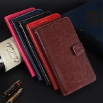 Leather Wallet Case (Xiaomi Redmi S2)