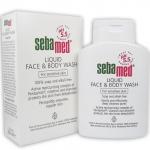 Sebamed Liquid Face & Body Wash 300 ml.
