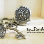 พวงกุญแจนาฬิกาพกวินเทจ และ นาฬิกาพวงกุญแจคู่รักเก๋ๆ