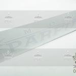 สติ๊กเกอร์ Mode PARFUME แนวยาว ติดหน้ารถ-ท้ายรถ ขนาดใหญ่ สีขาว (7.5cm x 40cm)