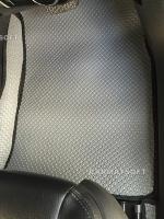 ยางปูพื้นรถยนต์ CRUZE รุ่น MINI MAT กระดุมเม็ดเล็กสีเทา เต็มคัน