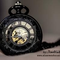 นาฬิกากลไกไขลาน รุ่นนาฬิกาพกแบบไขลานโบราณ ออกแบบเป็นของขวัญ ของที่ระลึกคลาสสิค สวยหรู