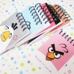 สมุดโน๊ต Angry bird (ราคาส่ง 12เล่ม เหลือเล่มละ 20บาท)