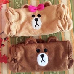 ผ้าคาดผม ลายหมีริลัคคุมะ และ หมีบราวน์