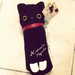 กระเป๋าดินสอ Kutsushita แมวดำ