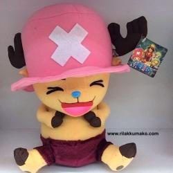 ตุ๊กตา ช็อปเปอร์ Chopper One Piece ยิ้มกว้าง ขนาด 12นิ้ว
