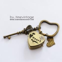 พวงกุญแจนาฬิกา Heart to YOU ของขวัญสำหรับคู่จิ้นให้แฟน