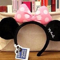 ที่คาดผม มินนี่เมาส์ Minnie Mouse