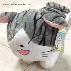 ตุ๊กตาจี้จัง แมวจี้จัง หลับตา Chi's sweet home ขนาดใหญ่ 22นิ้ว