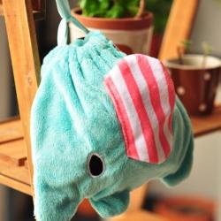 ถุงผ้าหูรูดช้าง Mouton Sentimental Circus ขนาด 8x7นิ้ว