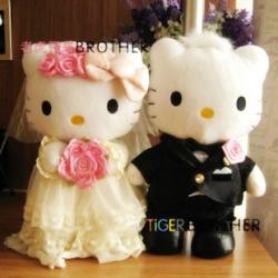 ตุ๊กตา Kitty เซ็ต คิตตี้แต่งงาน มี2ขนาด: 12นิ้ว และ 9นิ้ว