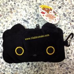 ซองใส่มือถือ ลาย แมวดำ Kutsushita ขนาด 6x3.5นิ้ว