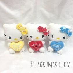 ตุ๊กตาคิตตี้ Hello Kitty 7 นิ้ว เซ็ต 3 ตัว