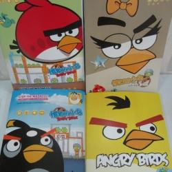 สมุดบันทึกน่ารัก ลาย Angry Bird