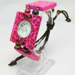 นาฬิกากะลามะพร้าว 1 โหล สไตล์วินเทจย้อนยุค (สินค้าขายส่งคละสี คละแบบ)