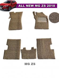 พรมดักฝุ่นไวนิล MG ZS รุ่น VINYL MAT สีครีม (5ชิ้น)