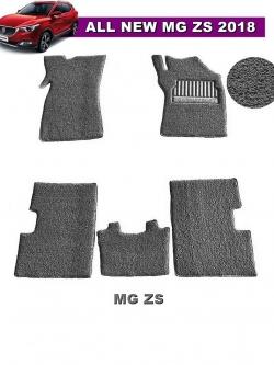 พรมดักฝุ่นไวนิล MG ZS รุ่น VINYL MAT สีเทา (5ชิ้น) สวยงาม เข้ารูป100%