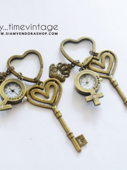 พวงกุญแจนาฬิกา LOVE W-M ของขวัญสำหรับคู่จิ้นให้แฟน ผู้ชายจากดาวอังคาร ผู้หญิงจากดาวศุกร์