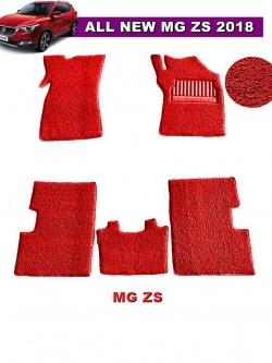 พรมดักฝุ่นไวนิล MG ZS รุ่น VINYL MAT สีแดง (5ชิ้น)