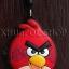 ที่ห้อยโทรศัพท์มือถือพร้อมจุกเสียบป้องกันฝุ่นไอโฟน (Angry Birds) thumbnail 1