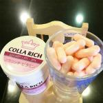 collarich collagen คอลลาริช คอลลาเจน กระปุกละ 60 แคปซูล 1 กระปุก มากกว่านั้นราคาส่งโปรดถาม