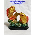 ปลาหลีฮื้อคู่ซุ้มประตูทอง(ปลาประตูชัย)เสริมโชคลาภ เสริมดวงค้าขายค่ะ