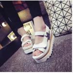[Pre-oder] รองเท้าหนังแฟชั่น รองเท้าผู้หญิง สไตล์เกาหลี ไซล์ 35-39