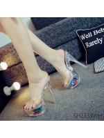 Pre รองเท้าคัทชู ส้นสูง แฟชั่น ราคาถูก มีไซด์ 34-38