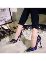 (พร้อมส่ง) รองเท้าคัทชู ส้นสูง แฟชั่น ราคาถูก มีไซด์ 38