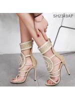 Pre รองเท้าคัทชู ส้นสูง แฟชั่น ราคาถูก มีไซด์ 35-42
