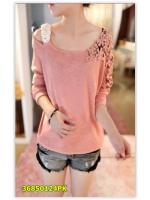 พรีออเดอร์ เสื้อ สีชมพู มีไซด์ M/L/XL/XXL