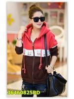 พรีออเดอร์ เสื้อกันหนาว/เสื้อแขนยาว สีแดง มีไซด์ M/L/XL