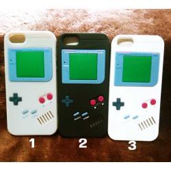 เคสซิลิโคน iPHONE 4/4s GAMES BOY