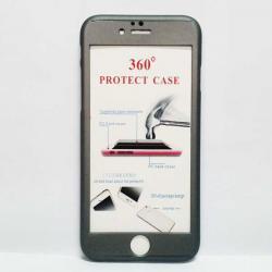 เคสไอโฟน 5/5S/SE ประกบ สีเทาดำ