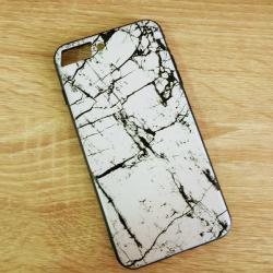 เคสไอโฟน 5/5s/se เคสหินอ่อนขาว
