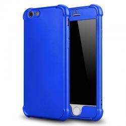 เคสประกบ tpu ไอโฟน 5/5s/se สีน้ำเงิน