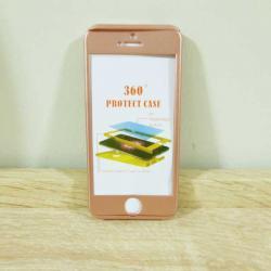 เคสไอโฟน 5/5S/SE ประกบ สีโรสโกล์ด