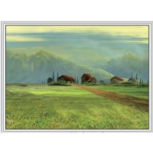 """1423 ภาพ diamond """"หมู่บ้านทุ่งเขียวขจี"""""""