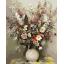 "MG762 ภาพระบายสีตามตัวเลข ""ดอกไม้หลากสีในแจกันขาว"" thumbnail 1"