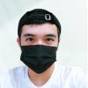ผ้าปิดปากสีดำราคาถูก จำนวน 10 ชิ้นต่อซอง - PAO หน้ากากอนามัยสีดำ (Face Mask) เกรด A ชนิดไม่มีขอบ ชนิดซอง ใยสังเคราะห์ คุณภาพสินค้นใช้ตาม โรงพยาบาล หูห่วงปรับรูปใหม่มีความยืดหยุ่นกว่าเดิม แบบซองซองใสโชว์สินค้า ขนาดความหนา - 1 ซอง มี 10แผ่น
