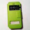 เคสซัมซุงโน๊ต 5 แบบฝาพับ สีเขียว