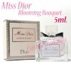 น้ำหอม Miss Dior Cherie Blooming Bouquet ขนาด 5 มล. (มีกล่อง) มอบความสดชื่นแบบหวานอมเปรี้ยว ด้วยกลิ่นสดใสกระปรี้ กระเปร่าของผลไม้ซิตรัสจากผลส้ม