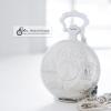 นาฬิกาที่ระลึก souvenir ปารีส ฝรั่งเศส ดีไซต์คลาสสิค ตัวเรือนสีเงินเงา