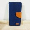 เคสไอโฟน 6/6S ฝาพับ สีน้ำเงิน