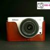 กระเป๋ากล้องNikon J1 J2 หนังแท้TP