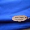 ผ้าพื้นคอตตอน~ โทนน้ำเงินสด หนาปกติหาจากตลาดในไทย1/2 m