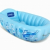 ฟ้า อ่างอาบน้ำเด็กนิรภัยแบบพกพา มีกันลื่น เนื้อหนา คุณภาพดีมาก แถม 1. ปั้มลมแบบเหยียบ 2. พลาสติกสำหรับซ่อมแซม