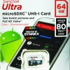 MicroSD Sandisk Ultra 64GB 80MB/s No Adapter ประกัน Synnex 7ปี