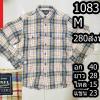 เสื้อเชิ้ตแขนยาว เสื้อเชิ้ตลายสก็อต Size M (No.1083)